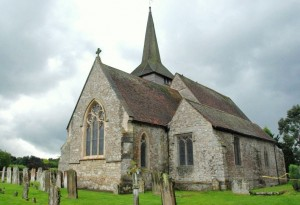 St Nicholas Anglican Parish Church, Otham, Kent UK